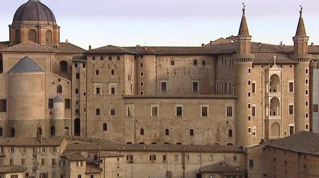 Palazzo Ducale di Urbino, veduta