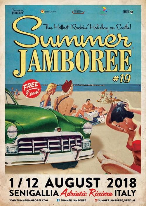 La locandina del Summer Jamboree 2018