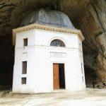 Tempio del Valadier: ingresso