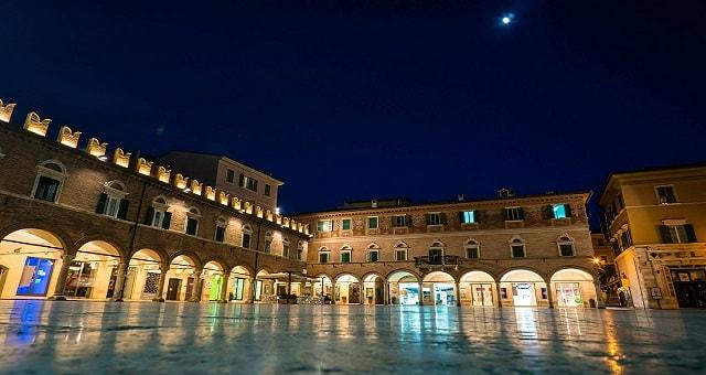 Ascoli Piceno, vista notturna