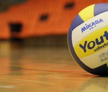 Lube Volley, il calendario delle partita: un pallone da pallavolo in campo