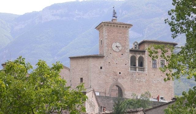 Festival dei Brutti di Piobbico, il Palazzo Brancaleoni
