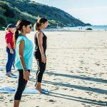 Pesaro in Fitness: yoga in spiaggia