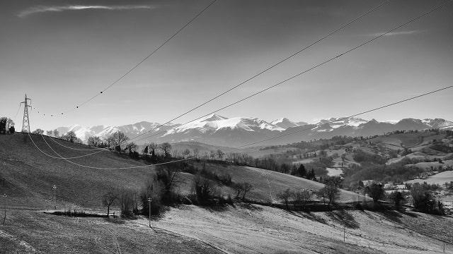Giornate FAI Autunno 2018 nelle Marche, panorama di Loro Piceno