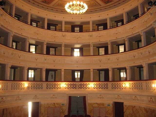 Giornate FAI Autunno 2018 nelle Marche, il Teatro Pagani di Monterubbiano