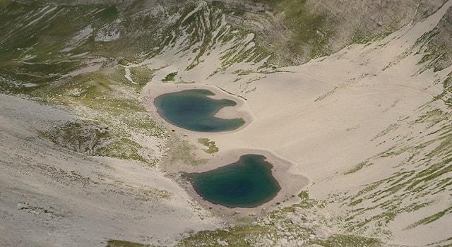 Laghi nelle Marche: il Lago di Pilato, sul Monte Vettore