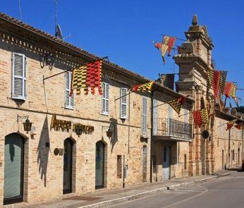 Cosa vedere a Servigliano: perimetro del centro storico