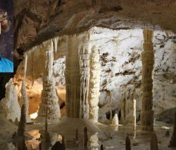 Alberto Angela alle Grotte di Frasassi con Meraviglie - La Penisola dei Tesori