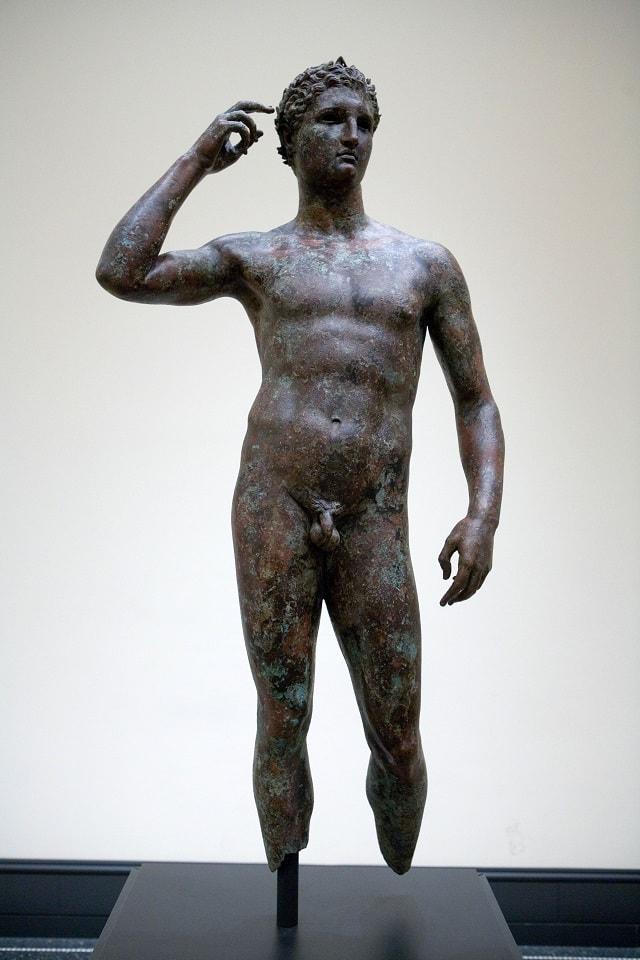 La statua dell'Atleta di Fano di Lisippo