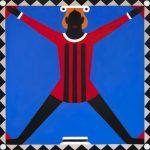 A.-Iacurci_Cerchio-quadrato 200x200cm acrilico su tela