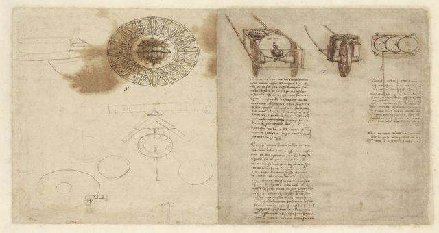 De Agostini Picture Library, Codice Atlantico di Leonardo Da Vinci