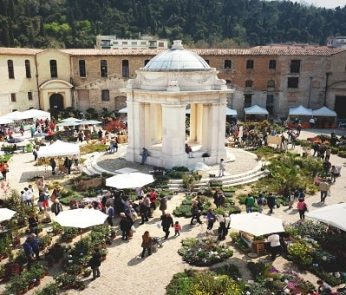 Ancona Flower Show 2019: la Mole Vanvitelliana