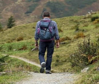 Festival dell'Appennino 2019 nelle Marche: escursionista