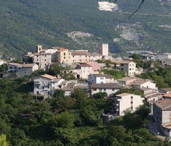 Pierosara, frazione di Genga: vista panoramica
