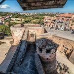 Vista dalla Rocca di Mondavio, Itinerari della Bellezza