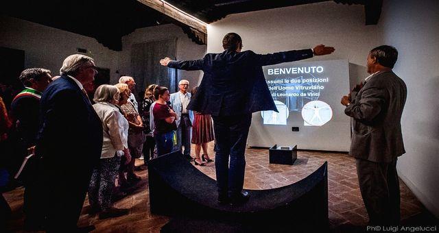 Leonardo e Vitruvio, mostra a Fano Ph Luigi Angelucci
