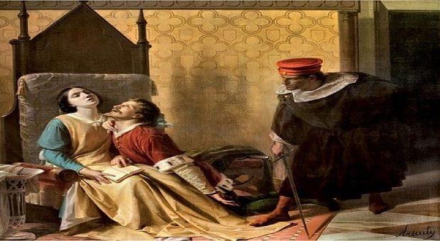 La stanza di Paolo e Francesca a Gradara
