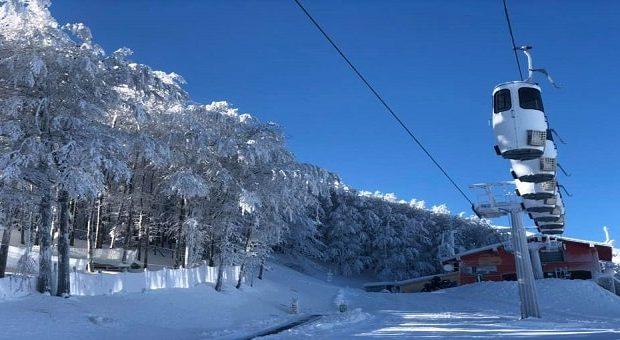 La nuova cabinovia sul Monte Catria
