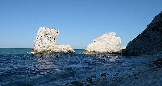 Spiaggia delle Due Sorelle, Sirolo, Ancona