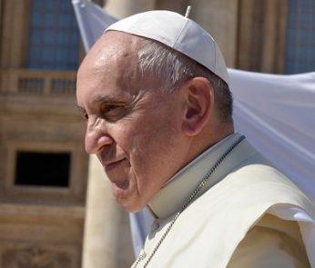 Papa Francesco nelle zone terremotate di Camerino