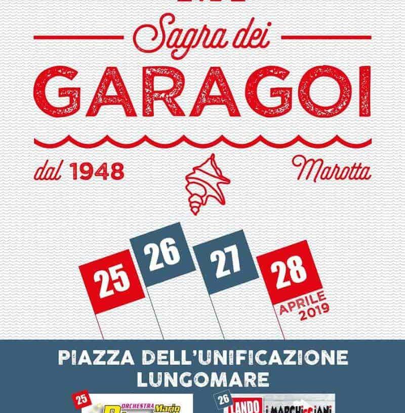 Sagra dei Garagoi 2019 Marotta: locandina