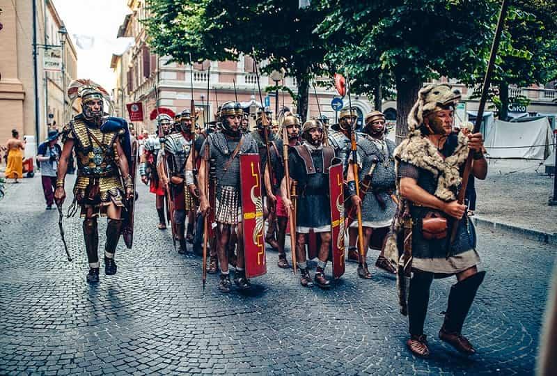 Fano dei Cesari 2019: legionari
