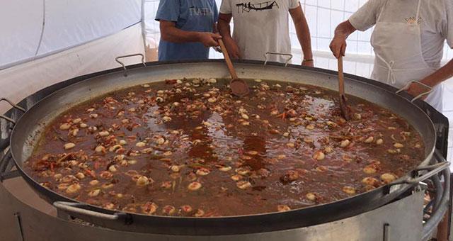 Festa della tratta, zuppa