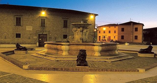 Senigallia, piazza Rocca Roveresca