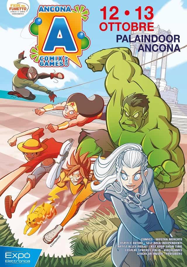 Ancona Comics & Games 2019: poster ufficiale
