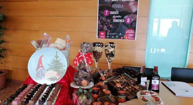 CioccoVisciola di Natale 2019 a Pergola, cioccolato