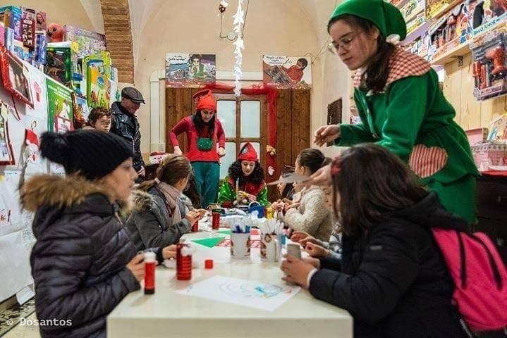 Magico Mondo di Babbo Natale a Pergola: laboratori