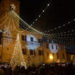 Mombaroccio, luci Natale