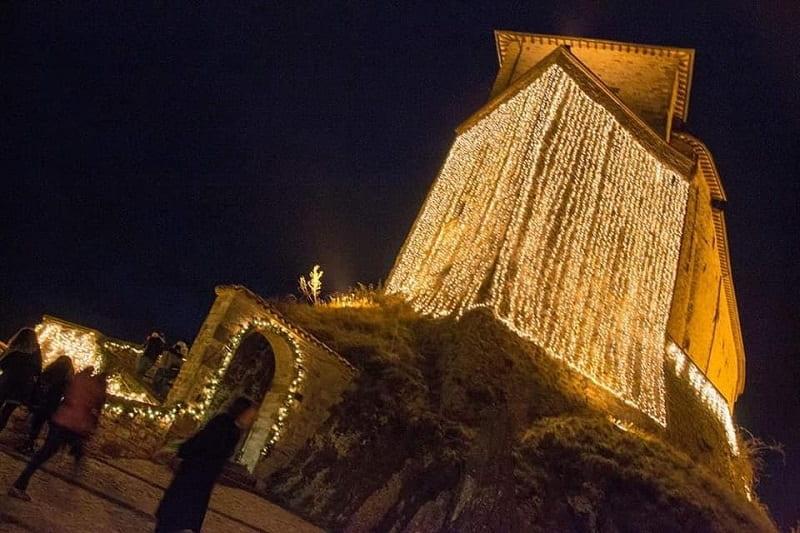 Natale a Frontone, luminarie