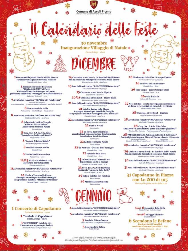 Calendario delle feste di Ascoli