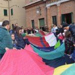 Festa della Befana di Urbania 2020, sciarpa più lunga del mondo