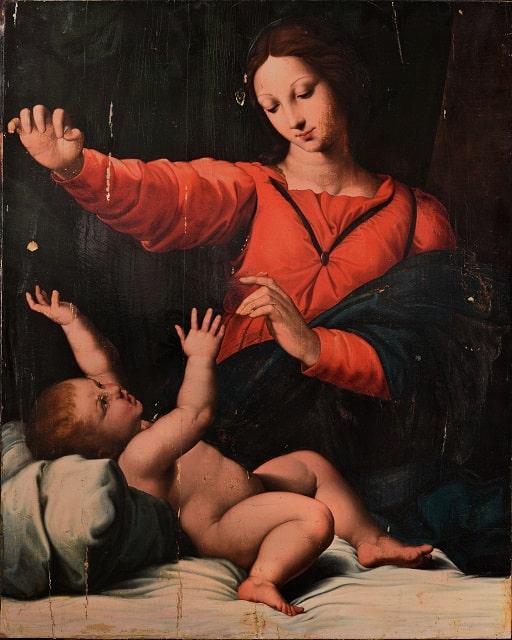 Madonna di Loreto, Raffaello