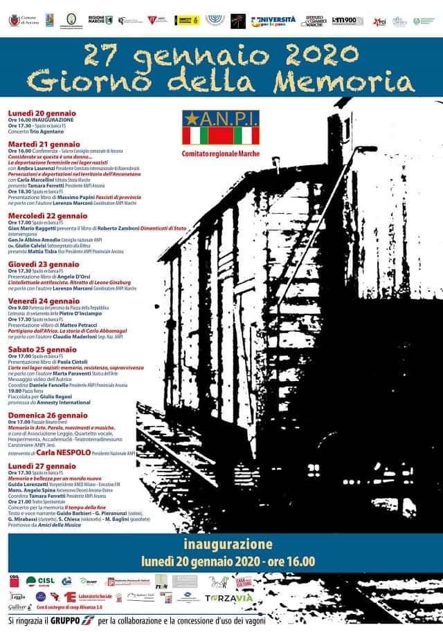 Treno della Memoria 2020, locandina