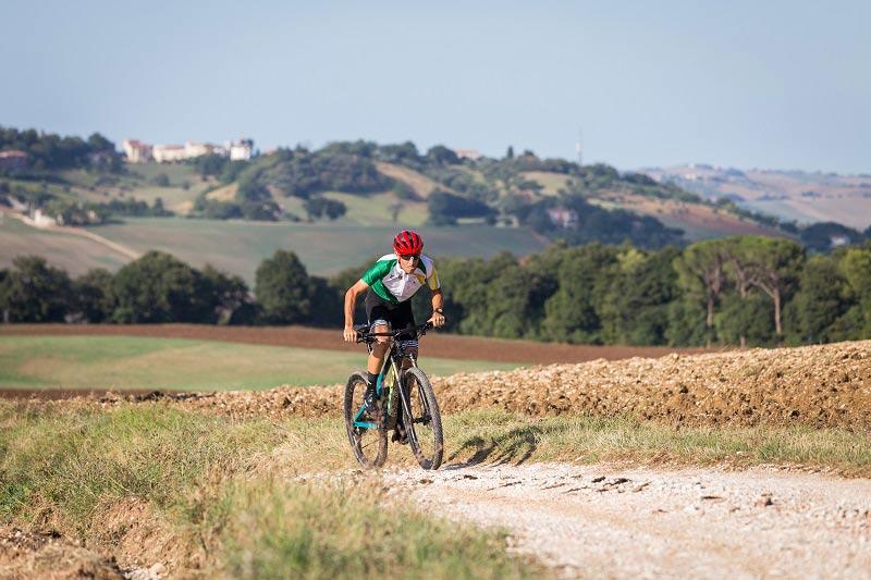 Marche Outdoor, Vincenzo Nibali: mountain bike