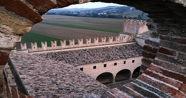 Castello della Rancia, vista dalla torre