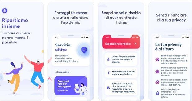 App Immuni Marche