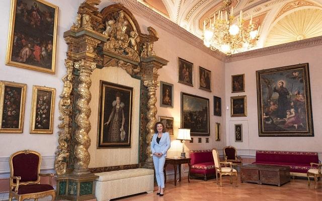 Casa Leopardi: Olimpia nella Galleria