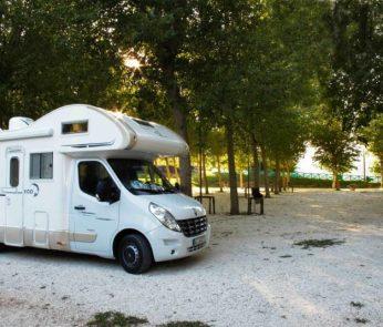 Camper nelle Marche: area camper a Pioraco