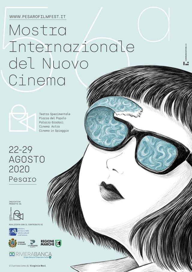 Locandina della Mostra Internazionale del Cinema 2020 a Pesaro