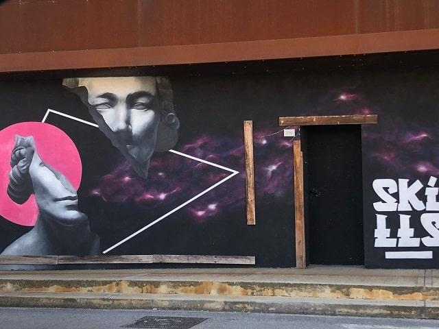 Murales negozio Marotta