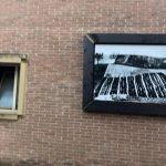 Street Art nelle Marche, Mondolfo Galleria senza soffitto: opera esposta